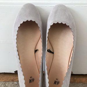 H&M Gray flats - NWOT - Never Worn
